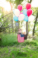 Child Pilot Floating With Balloons ( California & bay area photographer)