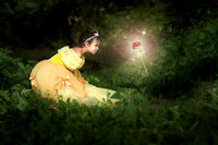 Beauty And The Beast Child Portrait (California & bay area photographer)